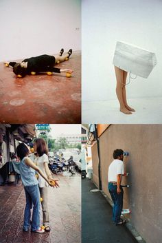ringo: a la one minute sculpture artist erwin wurm