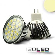 MR16 LED Strahler SMD20, 3,6 Watt, warmweiss / LED24-LED Shop