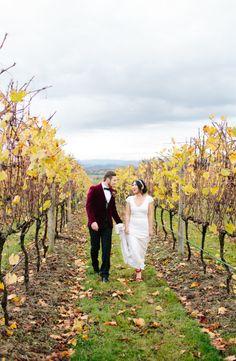 Heartfelt autumn wedding in the Yarra Valley: http://www.stylemepretty.com/australia-weddings/victoria-au/yarra-valley/2014/07/07/heartfelt-autumn-wedding-in-the-yarra-valley/ | Photography: http://www.kytography.com/