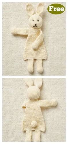 crochet bunny pattern This Rabbit Ragdoll Toy Free Crochet Pattern is super adorable. It would make a great crochet Easter bunny. Its a great gift option too. Crochet Easter, Crochet Baby Toys, Crochet For Boys, Crochet Crafts, Crochet Yarn, Crochet Projects, Free Crochet, Cat Crochet, Free Knitting