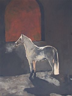 """11 x 16 acrylic painting of """"First Light""""  Peggy Judy"""