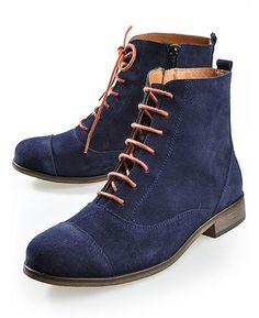 Deerberg 'Enna', marine - Ankle Boots - Deerberg