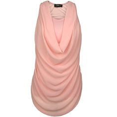 Top Waterfall Powder Pink