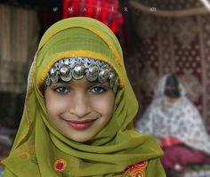 Beautiful Omani smile