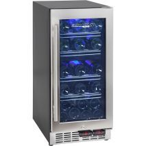 Under Bench Front Venting Wine Refrigerator With Seamless Stainless Framed Glass Door Beer Fridge, Wine Refrigerator, Mobile Price, Glass Door, Locker Storage, Bench, Australia, Stuff To Buy, Label