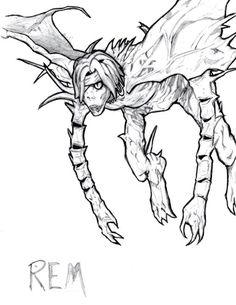 Shinigami Rem -Death note by MeluuArts