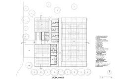 Neighbourhood Sports Centre Kiel,Floor Plan