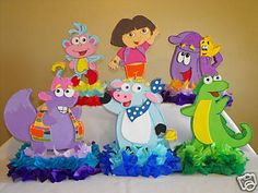 Awesome Birthday Adventure with Dora The Explorer Birthday Invitation