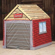 Kids Garage Tent - Click Image to Close Wooden Toy Garage, Sean Parker, Kids Garage, Toys For Girls, Play Houses, Boy Room, Playroom, Boy Or Girl, Tent