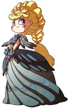 Star Butterfly as Queen of Mewni