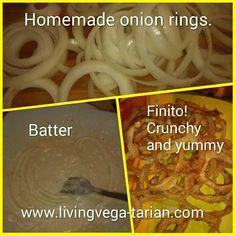 Onion Rings Homemade Onion Rings, Vegetarian, Beef, Chicken, Food, Meat, Essen, Ox, Ground Beef