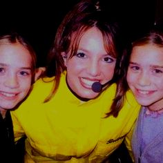 Britney and the Olsens, circa 1997!