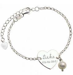 Silver Bracelet Front and Back Engraving