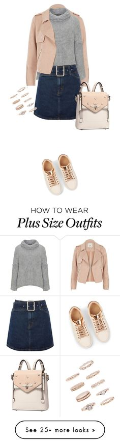 """""""Untitled #276"""" by shinrashuya on Polyvore featuring River Island, Amandine, Topshop and Forever 21"""