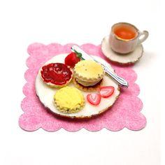 Cream Tea - Scones and Tea   by Dollhouse Kitchen