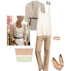 better for a Friday at work - LOVE this look... casual classy
