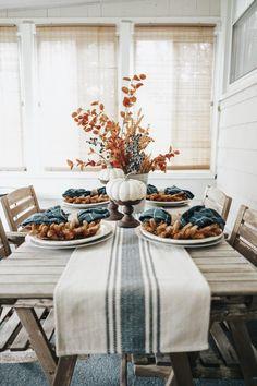 Fall Home Decor, Autumn Home, Blue Fall Decor, Modern Fall Decor, Fal Decor, Country Fall Decor, Fall Bedroom Decor, Fall Kitchen Decor, Decor Room