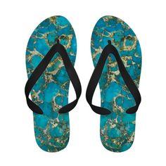 """Turquoise Sandals"""
