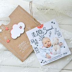 Babykarte, Stampin Up!, sandkarton, Wolke, Sterne