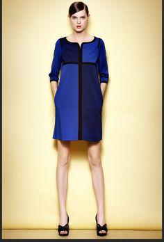Fall dress 3/4 sleeve dress A832 – TO Design