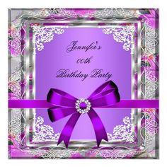 Elegant 40th Birthday Party Pink Rose Gold Card 40th birthday