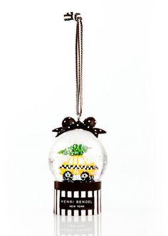 Taxi Snowglobe Ornament #ad