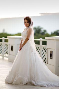 Jiyoung & Jeff's wedding at Army Navy Club in Arlington, Va  #wedding #bride #weddingdress