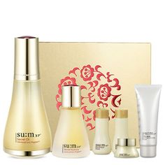 Korean Cosmetic SU:M37 Secret Oil Special Set - Natural fermentation Anti-Aging #SUM37   The more defended efficacy of this anti aging oil offers a strong support for various skin care from hydration to nourishing and elasticity containing the essence of fermentation perfected by oil fermentation technology.