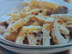 Chicken and Mushroom Baked Ziti