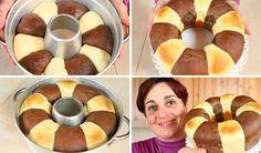 PAN BRIOCHE BICOLORE FATTO IN CASA – Homemade Two Color Bread Brioche