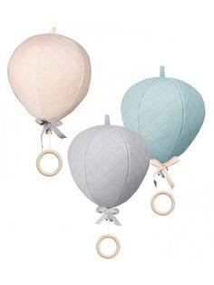 Balloon Music Mobile - Rose