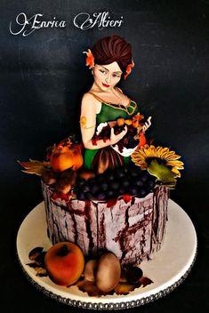 Madre Natura - cake by Enryaltieri