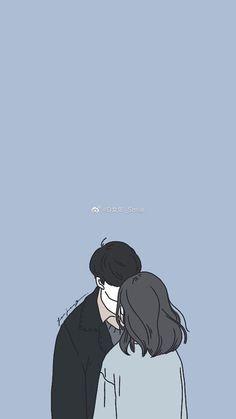 26 Aesthetic Anime Couple Wallpaper Di 2020 Ilustrasi Karakter Ilustrasi Lukisan Seni