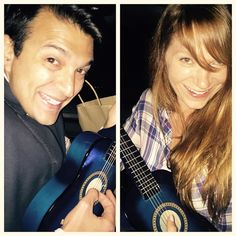 In case you wondered if we had musical talent... We don't!!! @rory_vaden #worktrip
