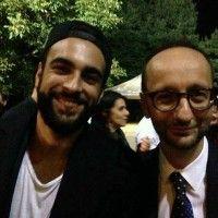 Foto di Marco Mengoni al matrimonio di Andrea Laffranchi