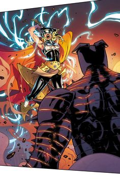 Thor vs The Destroyer  -     Thor #7 by Russell Dauterman, colours by Matt Wilson *°°