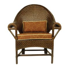 The Goa Club Chair. Rattan & Woven Peel, from Walters Wicker Interior Collection.