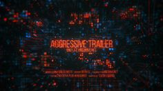 Aggressive Trailer • After Effects Template #technology #computers • Download ➝ https://videohive.net/item/aggressive-trailer/18612808?ref=pxcr