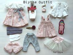 *Blythe outfit・パペット・洋服set ♪*_画像2