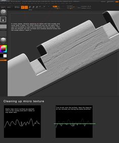 ArtStation - Sculpting micro texture - Tutorial, Alec Moody