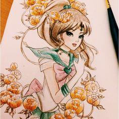 Coloured Jupiter emojiemoji full uncropped image on tumblr soon! :)