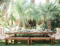 Peach & Mint Garden Wedding - Inspired by This