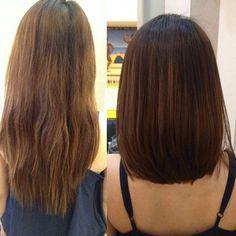 Shoulder length layers at the bottom thickest layer is the longest I love love l… - Shoulder Length Hair Medium Hair Cuts, Medium Hair Styles, Curly Hair Styles, Long Face Hairstyles, Straight Hairstyles, Girl Hairstyles, Celebrity Hair Stylist, Long Layered Hair, Hair Lengths