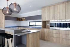 Clean and simple design open plan layout with functional spaces,natural wood textures add warmth. Designer home in Langebaan Country Estate. Country Estate, Wood Texture, Open Plan, Simple Designs, Natural Wood, Cupboard, Architecture Design, Kitchen Cabinets, Layout