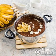 Chocolate Banana Porridge (Champorado)