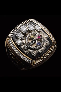 Super Bowl XL - Steelers 21 Seahawks 10 MVP - Hines Ward, Steelers The Steelers became the first seed to win all three playoff games on the road enroute to their fifth Super Bowl victory in Detroit. But Football, Pittsburgh Steelers Football, Pittsburgh Sports, Bears Football, Steelers Pics, Here We Go Steelers, Steelers Super Bowl Rings, Super Bowl Xl, Pitt Panthers