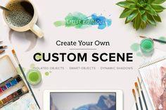 Check out Custom Scene - Artist Ed. - Vol. 1 by Román Jusdado on Creative Market