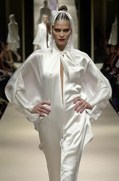 white satin jumpsuit