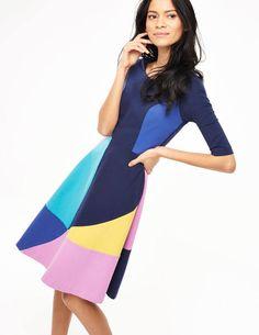 Alice Kleid aus Ponte-Roma-Jersey