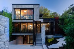 Cloister House in Vancouver Offering a Sense of Seclusion - http://freshome.com/cloister-house-vancouver-sense-of-seclusion/